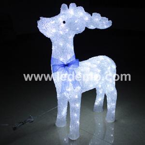 LED Decorative Christmas Acrylic Deer Light (LDM-DEER-75CM) pictures & photos