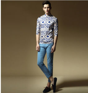New Fashion Style Men′s Leisure Shirt pictures & photos
