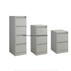 Metal Steel Iron Three Drawer Filing Cabinet with Cheap Price pictures & photos