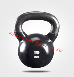Gym Equipment Fitness Equipment Exercise Black Kettlebell