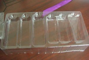 Pet Plastic Tray for Cosmetic Packing Vacforming pictures & photos