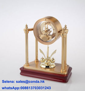 Luxury Rotate Table Clock K5003G pictures & photos