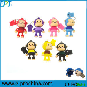 PVC Animal Monkey Shape Custom Logo USB Memory Disk (EG039) pictures & photos