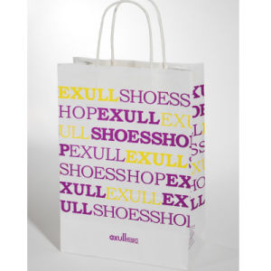 Shopping Bag, Promotional Custom Paper Gift Bag pictures & photos