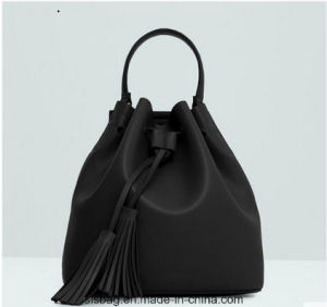 New Spring PU Tassel Bucket Bag for Lady pictures & photos