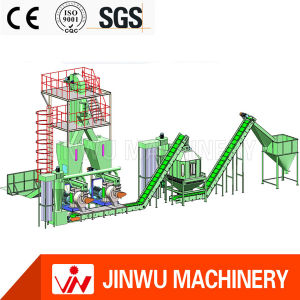 Competitive Price CE Stainless Ring Die Pellet Machine Line