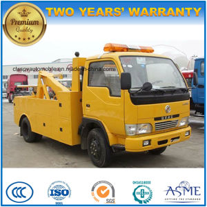 Dongfeng 4*2 Small Size Wreck Towing Truck for Sale pictures & photos