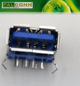 High Quality USB3.0 9pin Famale Connector Support OEM/ODM Service pictures & photos