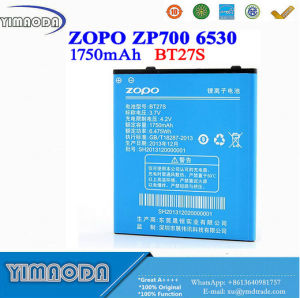 1750mAh Bt27s Zopo Zp700 Battery Zopo 700 6530 Battery pictures & photos