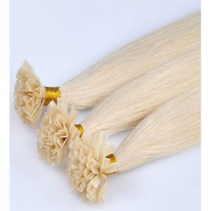 Highest Quality Keratin Brazilian Human Hair V Tip Hair Extension pictures & photos