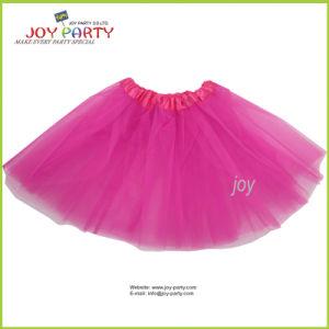 Hot Pink Organza Dancewear Tutu Ballet Pettiskirt Party Skirt pictures & photos