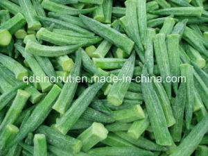 IQF Frozen Whole Okra pictures & photos