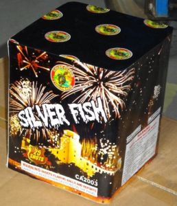 25s Silver Fish New Year Celebration Cake Fireworks pictures & photos