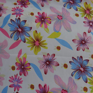 Floral Print Chiffon Fabric Chiffon Fabric pictures & photos