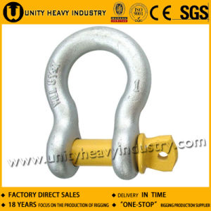 Screw Pin G 209 U. S Type Forged Anchor Shackle pictures & photos