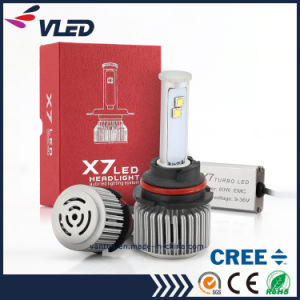 Highest Brightness X7 9004 60W 9600lm CREE Car Parts LED Headlight pictures & photos