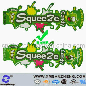 Fashion Cartoon Glossy Sticky Rain Resistant Colorful Candy Package Stickers pictures & photos
