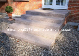 Maple Red, G664, G687 etc. China Granite Steps and Stairs pictures & photos