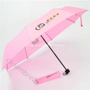 """Cheap Manual Open 21"""" 3 Folding Umbrella (YS3F0005) pictures & photos"""