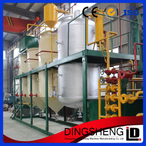 Continuous Refining 1-500tpd Soybean Oil Refinery Plant pictures & photos