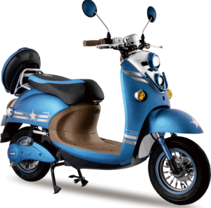 Hot 60V 800W Powerful E Motorcycles Electric Scooter (AM-Diol III) pictures & photos