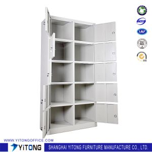 Yitong 10-Door Metal Storage Cabinet / Office Use Steel Locker pictures & photos