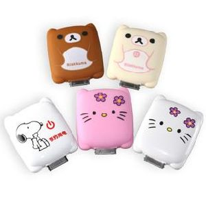 Cartoon External Battery Power Bank for iPhone to Charge (PZX012) pictures & photos