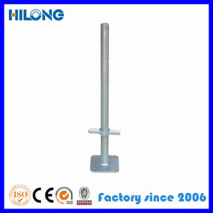 Adjustable Scaffolding Screw Steel Base Jack for Construction