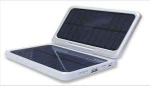 Rotatable and Foldable Solar Mobile Phone Power Bank Charger with LED Light pictures & photos