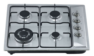 Build-in Gas Cooker Hob with Stainless Steel Top and Four Buners Sn-624 pictures & photos