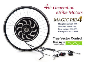50W-1000W Programmable Vector Controller Brushless Motor E-Bike Kit with CE pictures & photos