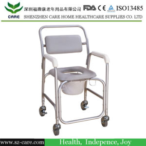 Care Toilet Commode Chair Wheelchair pictures & photos