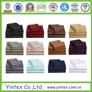 1800tc Series Microfiber Bed Sheet Set pictures & photos