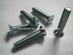 DIN963 Slotted Countersunk Head Machine Screw
