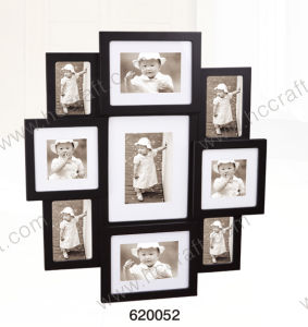 Black Collage Wooden Collage Photo Frame pictures & photos