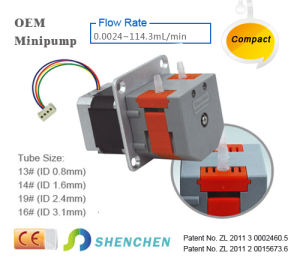 12V DC Motor Small Peristaltic Pump pictures & photos