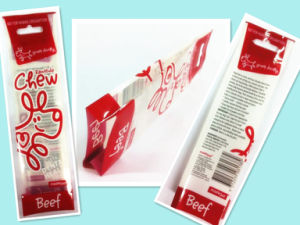 Plastic Side Gusset Pet Food Packaging pictures & photos