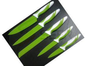5PCS Colorful Plastic Handle Kitchen Knife (SE-1508) pictures & photos