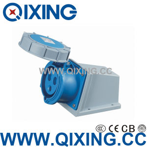 Economic Type Surface Mounted Socket for Industrial Application (QX-1202) pictures & photos