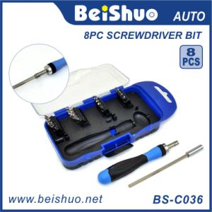 8PCS Good Quality Screwdriver Bits in Plastic Box pictures & photos