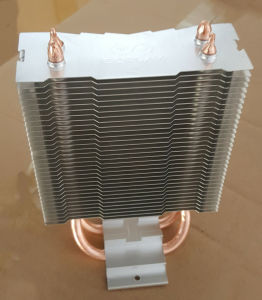 LED Heatsink with Copper Sintered Heatpipe pictures & photos