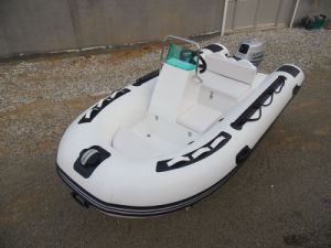 Boat, Inflatable Fishing Boat, Fiberglass Boat, Rib Boat, Sport Boat, Small Cheap Boat Rib360c Made in China for Sale pictures & photos