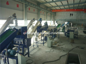 Waste PP PE Film Washing and Recycling Line pictures & photos