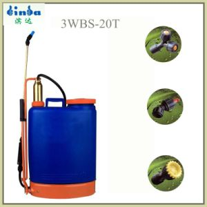 20L Knapsack Manual Sprayer with Brass Air Champler pictures & photos