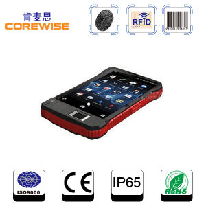 Rugged 8000mAh Android 6.0 Barcode Scanner PDA with GPRS/GPS RFID Reader 4G Tablet pictures & photos