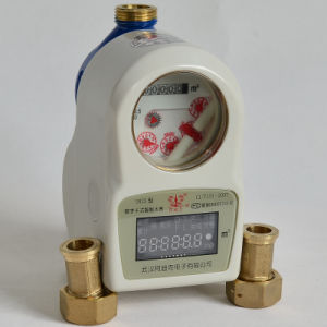 Dn15/20/25mm IC/RF Card Prepayment Smart Water Meter for Cold/Hot Water pictures & photos