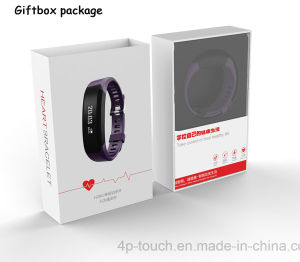 IP65 Waterproof Smart Bracelet with Heart Rate for Door Gift (H28) pictures & photos