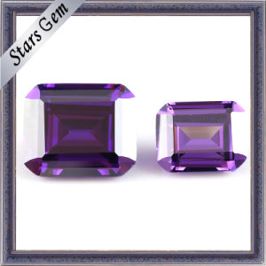 Brilliant Cut Amethyst Shining Zirconia Gems (STG-134) pictures & photos