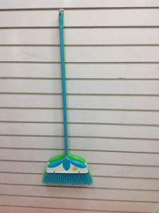 Colorful and Good Quality Plastic Broom (SQ-116) pictures & photos