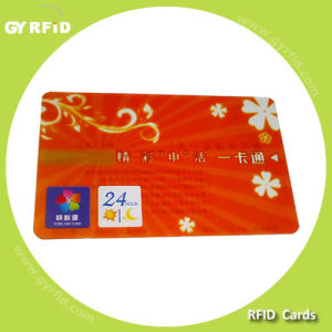 ISO Tk4100 Em ID Smart Card, RFID Credit Card (GYRFID) pictures & photos